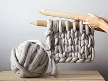 Ihlice na pletenie - veľké