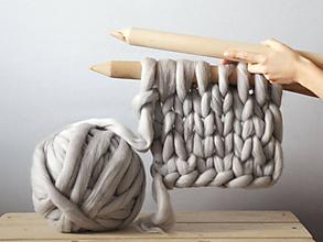 Materiál ručne robený - Ihlice na pletenie - veľké - 7322988_