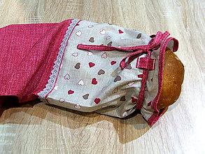 Úžitkový textil - SMILE: Obal na chlieb - 7324130_