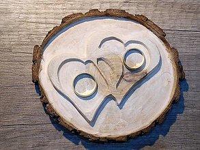 Prstene - vintage svadba/vankúšik pod svadobné prstene XII - 7322577_