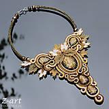 - Sutaškový náhrdelník Godelieve - 7323596_