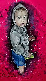 Tričká - Malý fešák-portrét - 7324814_