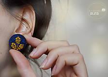 - Karamelová jeseň v modrom kabáte - 7323501_
