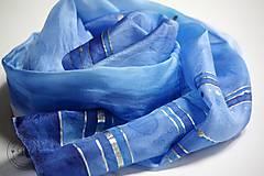 - Modré prúžky - 7323553_