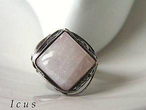 Prstene - Prsteň Mesačný kameň- Nilijen - 7323163_