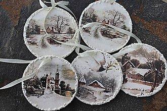 Dekorácie - rôzne vianočné dekorácie - 7326305_