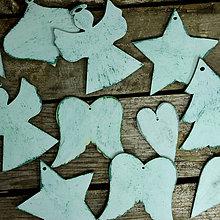 Dekorácie - Mentolkové Vianoce - 7324445_