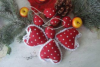 Dekorácie - Vianočná dekorácia-ozdôbky - 7325405_