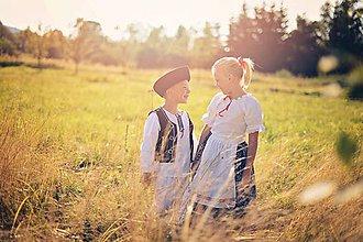Detské súpravy - Súprava ľudového odevu - 7325821_
