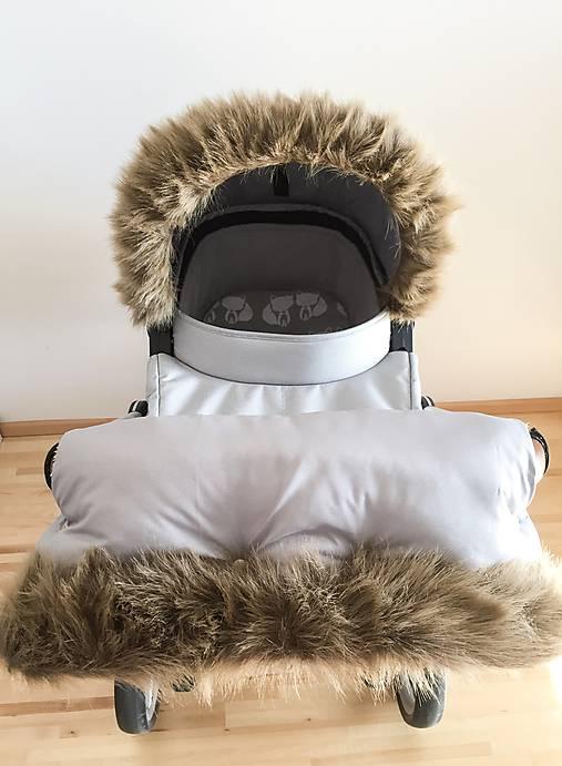 b9751cee6 Luxusná kožušinová súprava / konvalinka - SAShE.sk - Handmade Textil