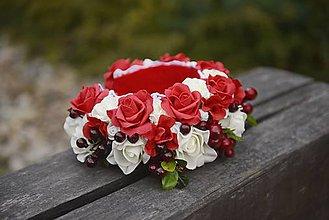 Ozdoby do vlasov - parta by michelle flowers - 7328264_