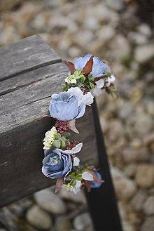Ozdoby do vlasov - 3/4 venček by michelle flowers - 7328364_