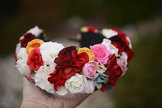 Ozdoby do vlasov - parta by michelle flowers - 7328407_