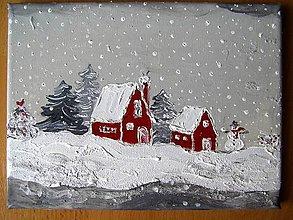 Obrazy - Zima, zima tu je... - 7330566_