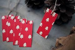 - Stromčeky - menovky na darčeky - 7332058_