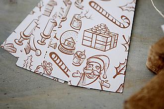 Papiernictvo - Perníkové visačky na darčeky - 7332067_