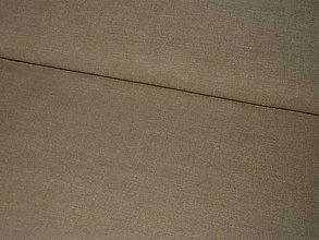 Textil - Látka Bavlna tm. béžová 220g - 7330808_