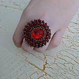 - Siam - vyšívaný prsten - 7329870_