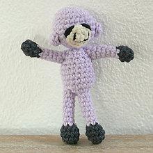 Hračky - levanduľová mini opička - 7329316_