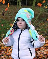 - Jedinečná detská čiapka - obojstranná - 7330692_