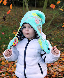 Detské čiapky - Jedinečná detská čiapka - obojstranná - 7330692_