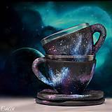 Nádoby - Celý vesmír - veľká šálka na kávu - 7330415_