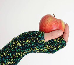 Rukavice - rukavičky Pastelky - 7328557_