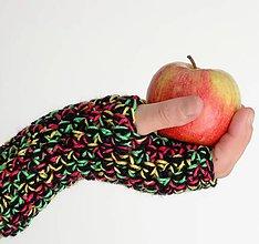 Rukavice - rukavičky Pastelky - 7328640_