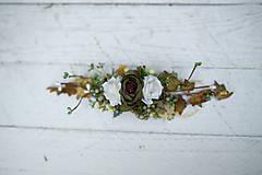 Ozdoby do vlasov - výpredaj z 28 eur Kvetinový hrebienok