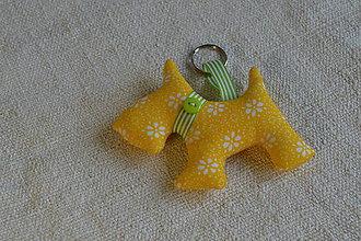 Kľúčenky - kľúčenka prívesok psík (11) - 7328400_