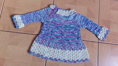 Detské oblečenie - Mikina z hodvábu - 7328905_