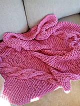 Ružová deka