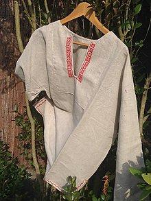 Košele - Pánska slovenská košeľa - 7334910_