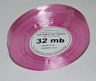- stuha ružová  12mm/32 m- balenie - 7333613_