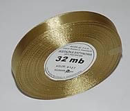 - Stuha zlatá 12 mm/32 m- balenie - 7333711_