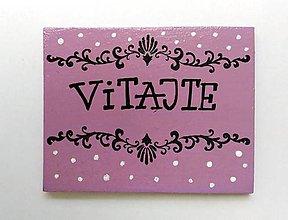 Tabuľky - vitajte - 7334765_