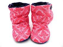 Topánočky - Teplé papučky - 7333616_