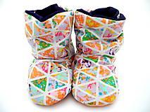 Topánočky - Teplé papučky - 7333629_