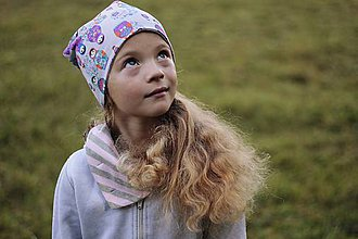 Detské čiapky - Obojstranná detská čiapka - Matryoshka - 7337105_