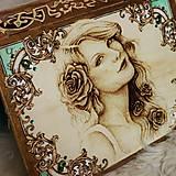 """Krabičky - Veľká truhlica """"Victorian"""" - 7333556_"""
