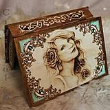 """Krabičky - Veľká truhlica """"Victorian"""" - 7333557_"""