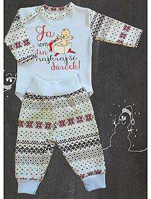 Detské oblečenie - Vianočná súprava - darček - 7335485_