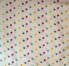 Textil - flanel-guličky - 7333186_