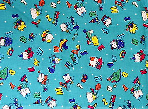 Textil - bavlna-zvieratká - 7333308_