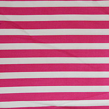 Textil - bavlna-ružový pásik - 7333385_