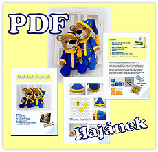 Kurzy - Návod PDF- medvídek Hajánek - 7336874_