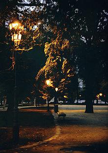 Obrazy - Nočné potulky - 7333033_