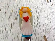 Pomôcky - lyžička s anjelom - 7336618_