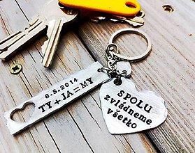 Kľúčenky - Ty&JA spolu zvládneme všetko ... - 7341663_