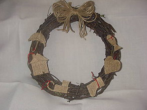 Dekorácie - Vianočný venček - 7341287_